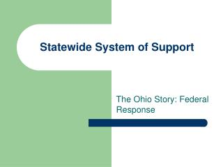 Statewide System of Support
