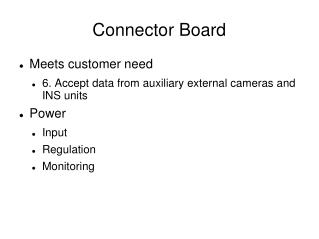 Connector Board
