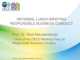 INFORMAL LUNCH BRIEFING RESPONSIBLE BUSINESS CONDUCT