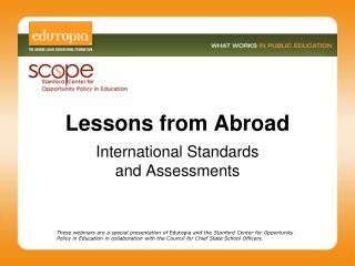 Lessons from Abroad