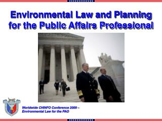 Environmental Law and Planning  for the Public Affairs Professional