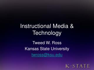 Instructional Media & Technology