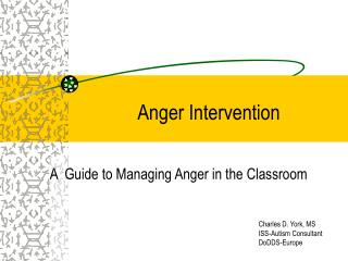 Anger Intervention