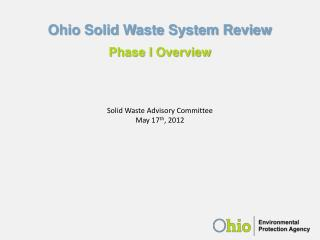 Ohio Solid Waste System Review