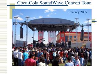 Coca-Cola SoundWave Concert Tour