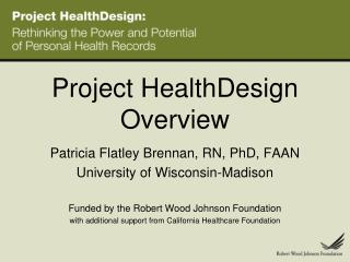 Project HealthDesign Overview