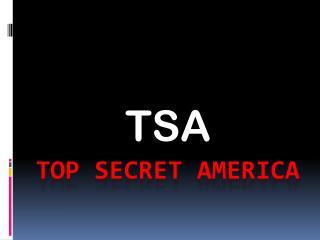 Top Secret  america