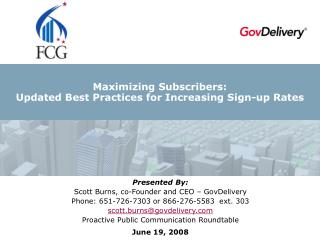 Maximizing Subscribers: Updated Best Practices for Increasing Sign-up Rates