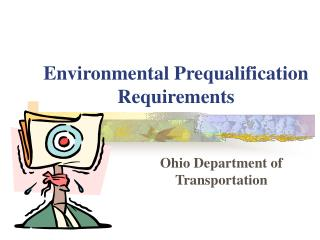 Environmental Prequalification Requirements