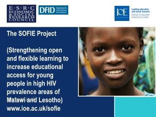 Rationale for the SOFIE Project