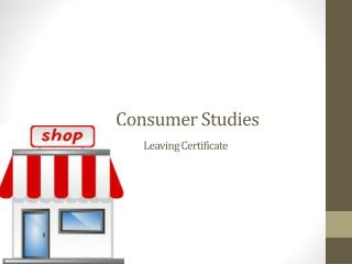 Consumer Studies Leaving Certificate