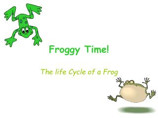 Froggy Time!