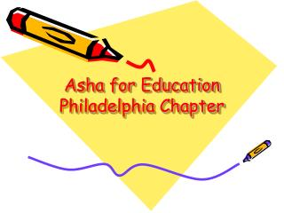 Asha for Education Philadelphia Chapter