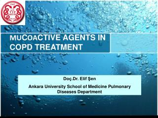 MU C OA CTIVE AGENTS IN COPD TREATMENT