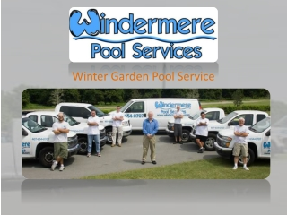 Winter Garden Pool Service