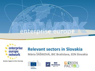 Relevant sectors in Slovakia