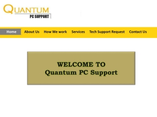 Quantum PC Support
