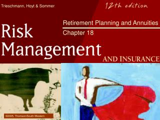 Retirement Planning and Annuities   Chapter 18