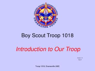 Boy Scout Troop 1018