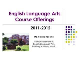 English Language Arts  Course Offerings