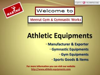 Athletic Equipments