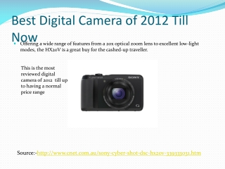 sony best digital cameras
