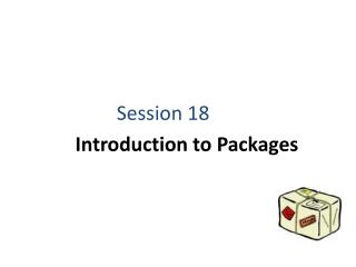 Introduction to Packages
