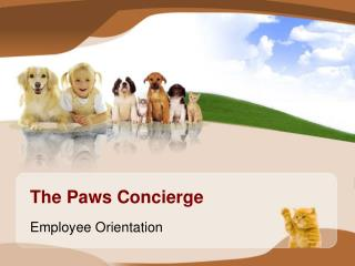 The Paws Concierge