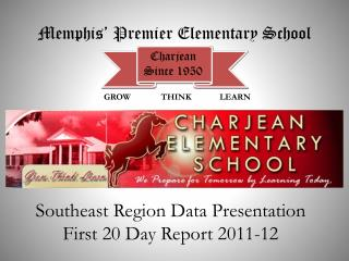 Southeast Region Data Presentation First 20 Day Report 2011-12