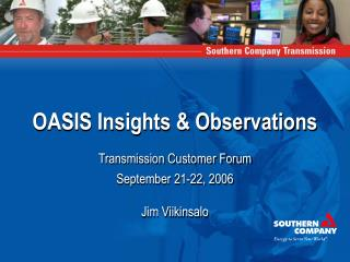 OASIS Insights & Observations