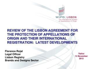 Florence Rojal Legal Officer Lisbon Registry Brands and Designs Sector
