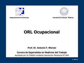 Carrera de Especialista en Medicina del Trabajo