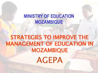 MINISTRY OF EDUCATION MOZAMBIQUE