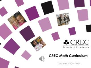 CREC Math Curriculum