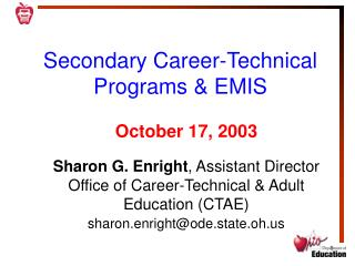 Secondary Career-Technical Programs & EMIS