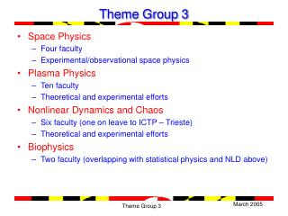 Theme Group 3