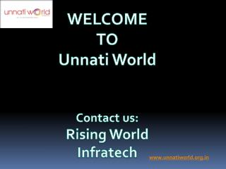 Unnati World Noida||Commercial And Residential Space