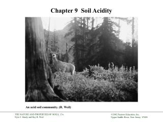 Chapter 9   Soil Acidity