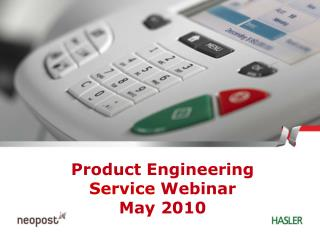 Product Engineering Service  Webinar May 2010
