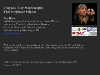 Plug-and-Play Macroscopes  That Empower Science Katy Börner