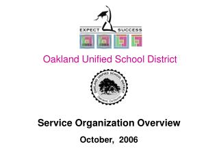 Service Organization Overview October,  2006