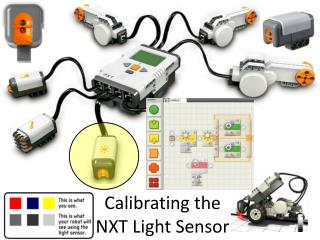 Calibrating the  NXT Light Sensor