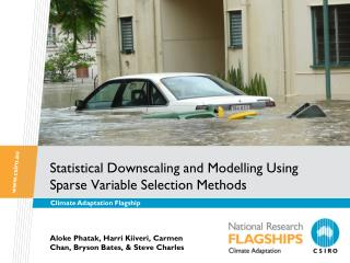 Statistical Downscaling and Modelling Using Sparse Variable Selection Methods