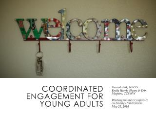 Coordinated  Engagement  for  Young  Adults