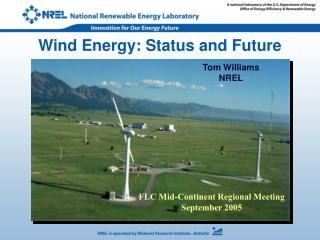 Wind Energy: Status and Future