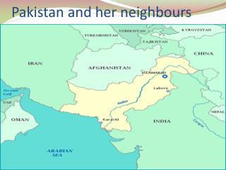 Pakistan and her neighbours