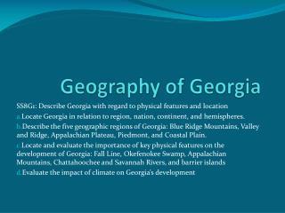 Geography of Georgia