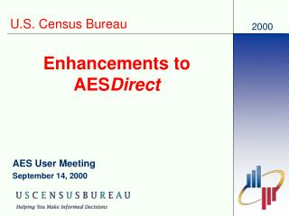 Enhancements to AES Direct