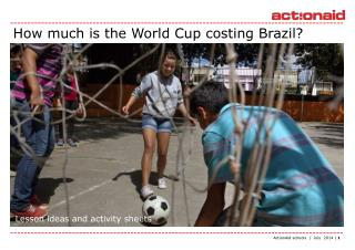 How much is the World Cup costing Brazil?