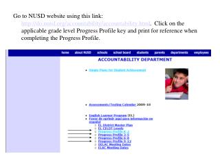 Next, click on Students in main profile page.